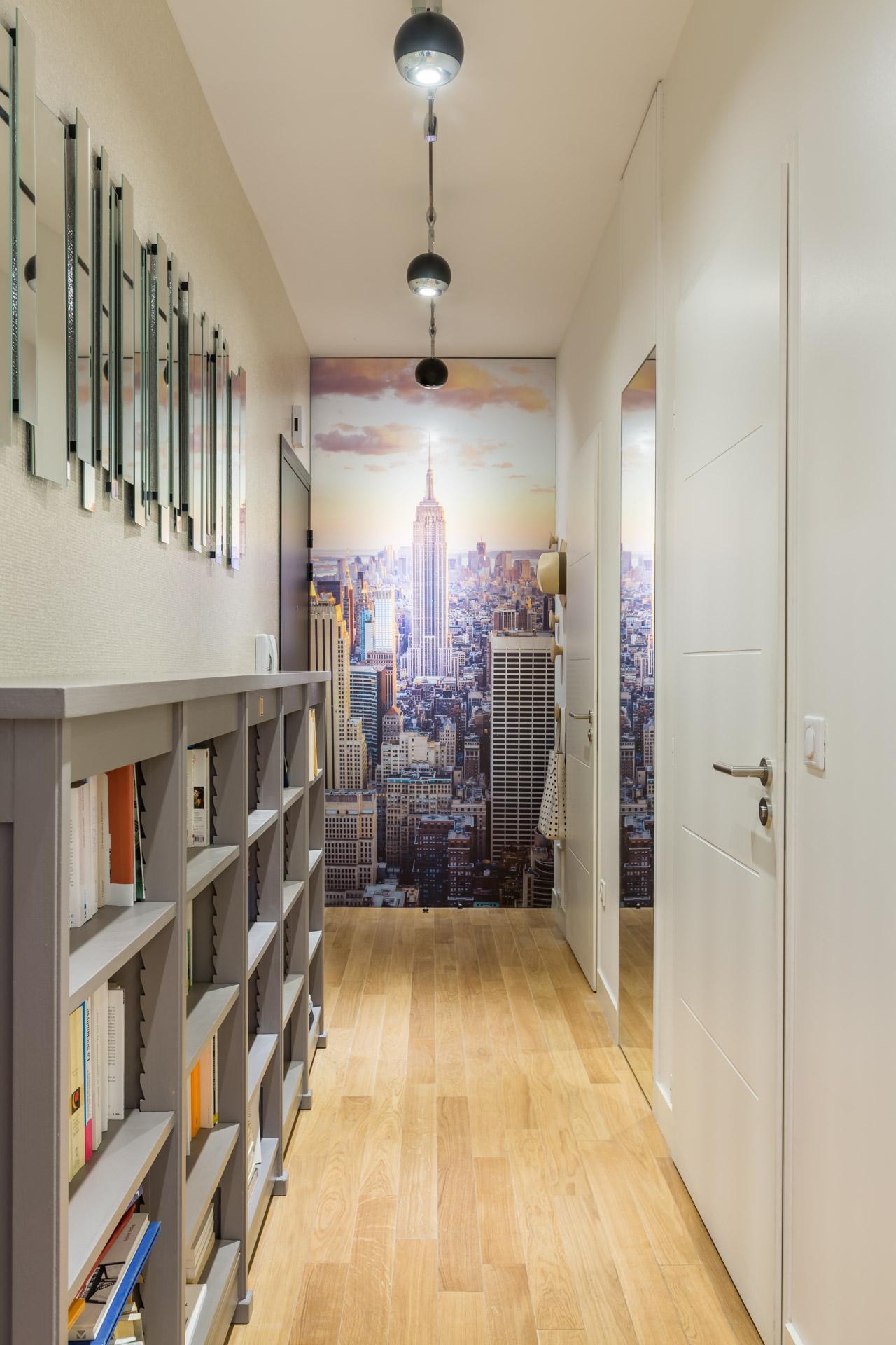 D coration d un appartement dans le carr cheverus for Arredare un ingresso stretto
