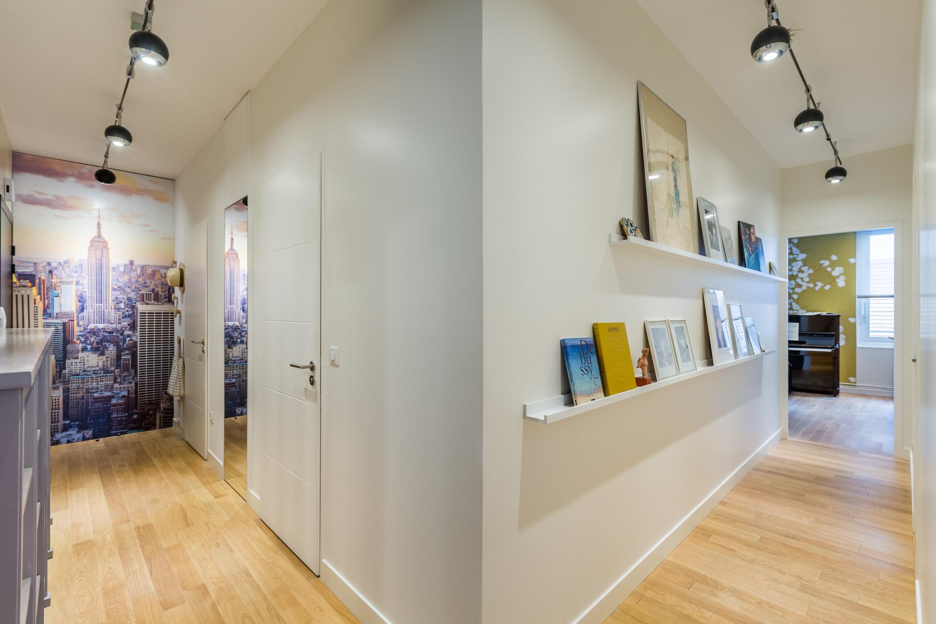 Chambre Couleur Vert Amande : Décoration d un appartement dans le carré cheverus à