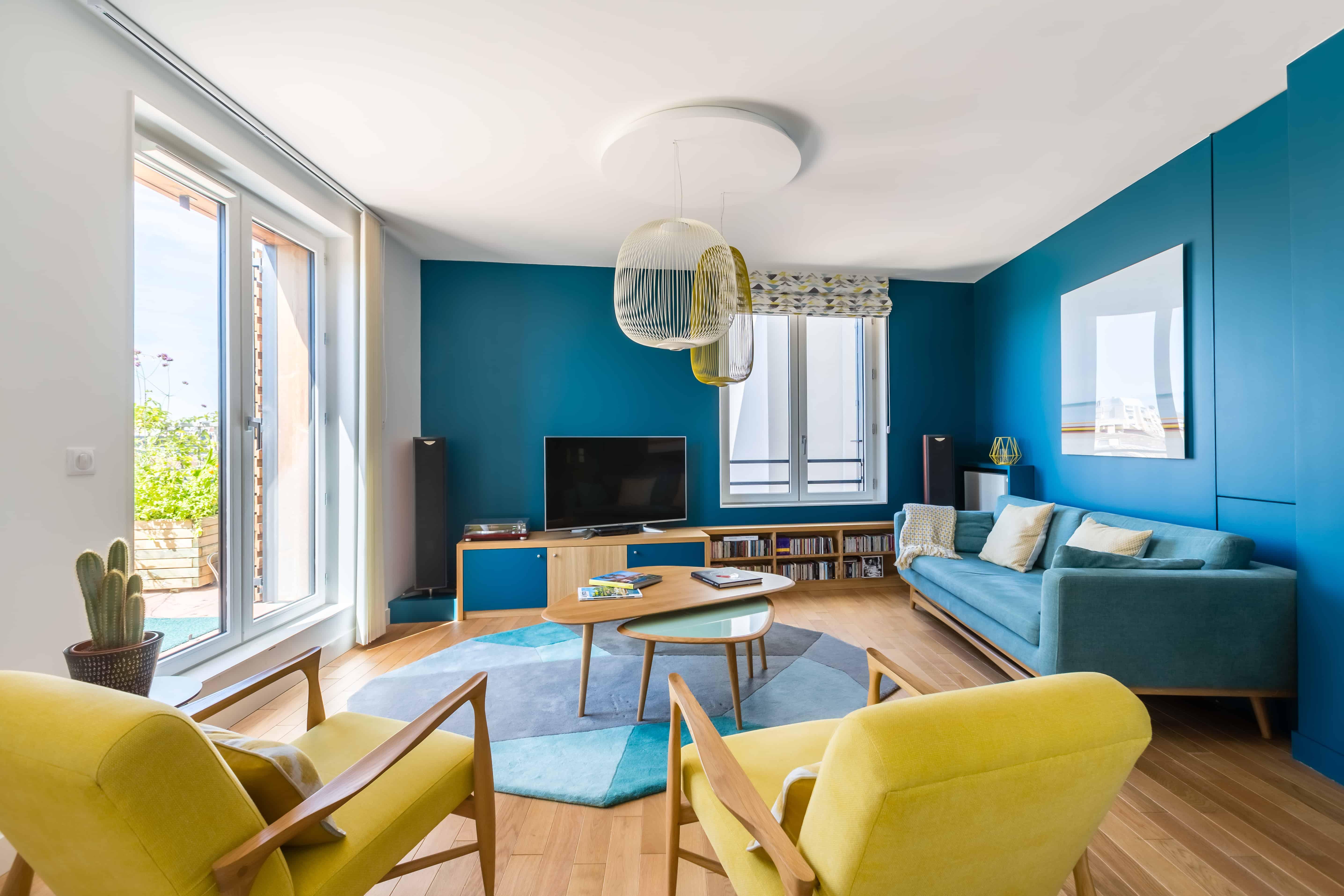 Architecte Interieur Bordeaux décoration d'un autre appartement neuf dans le programme